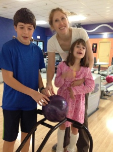 Bowling with Anne